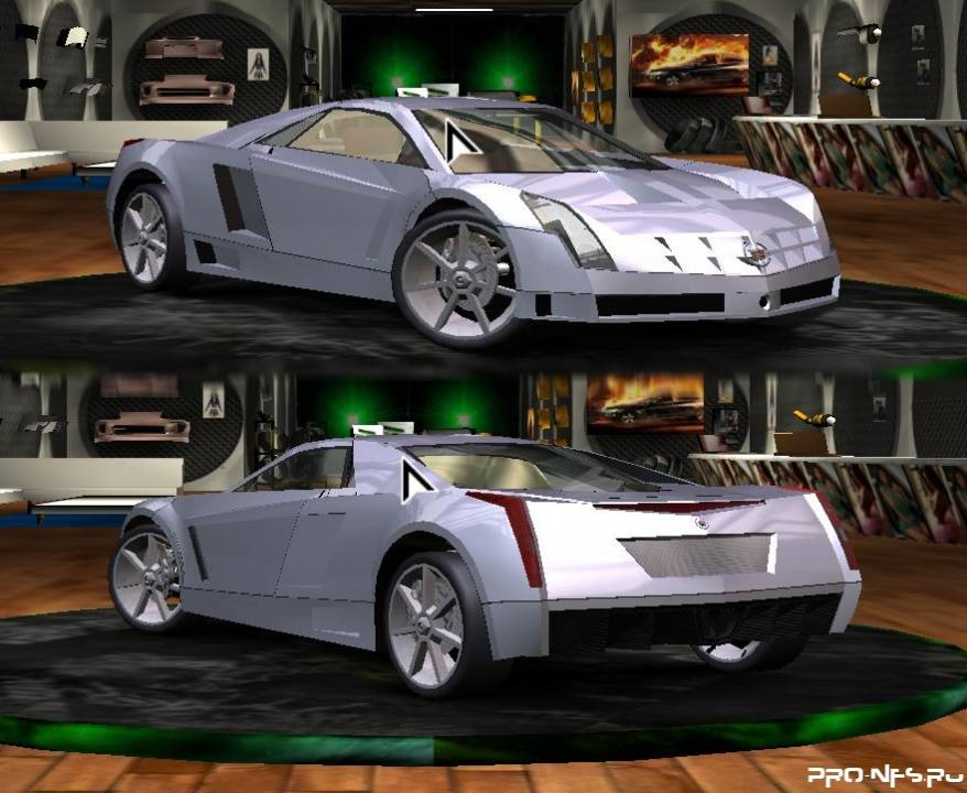 Cadillac Cien для Need for Speed Underground 2 скачать