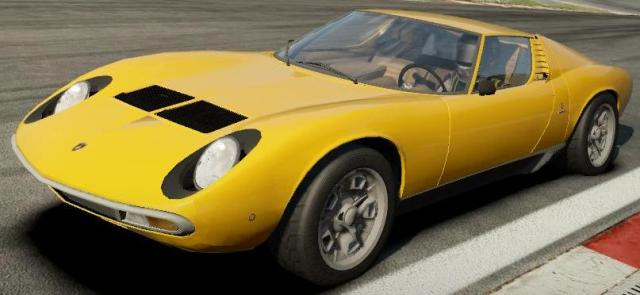 Lamborghini Miura P400 SV (1971) с тюнингом для Need For Speed: Shift 2 Unleashed скачать