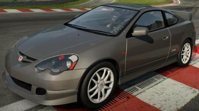 Honda Integra Type-R (2002) с тюнингом для Need For Speed: Shift 2 Unleashed скачать