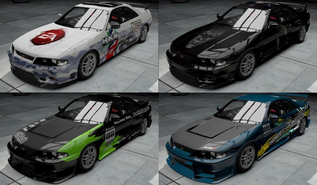 Nissan Skyline GT-R V.spec (R33) (1997) с тюнингом для Need For Speed: Shift 2 Unleashed скачать