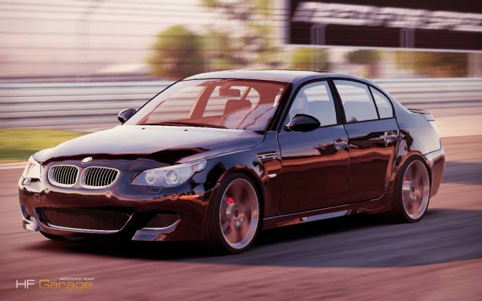 BMW M5 e60 для NFS Shift 2 Unleashed