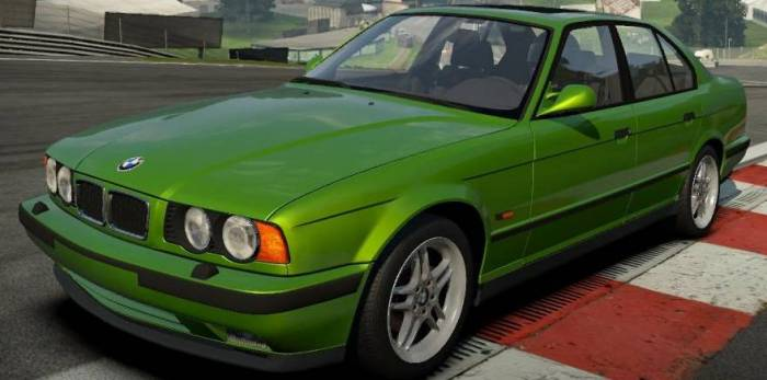BMW M5 e34 для Need For Speed: Shift 2 Unleashed скачать