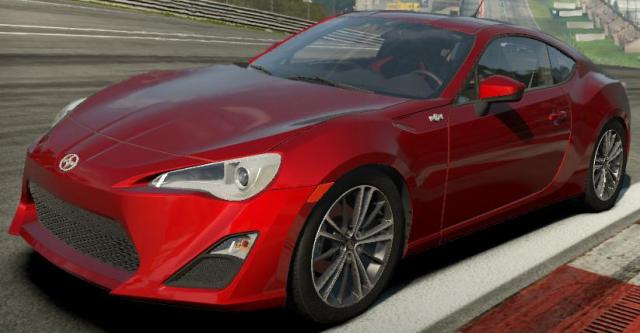 Scion FR-S (2013) с тюнингом для Need For Speed: Shift 2 Unleashed скачать