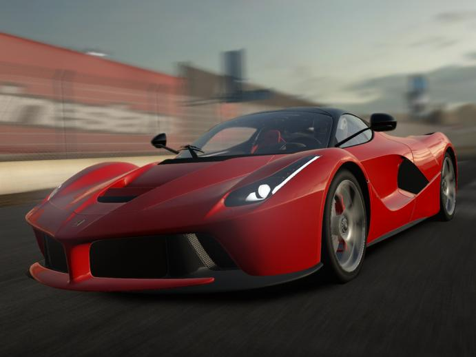 LaFerrari v1.4 для Need For Speed Shift 2 Unleashed