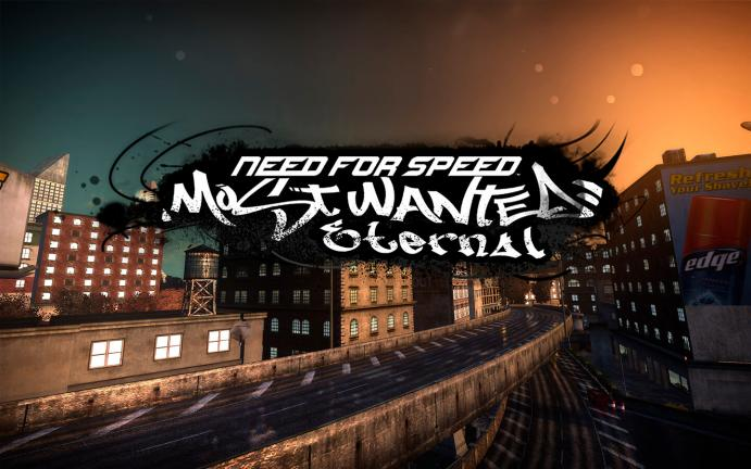 NFS Most Wanted Eternal & SourceLighting – HD графика