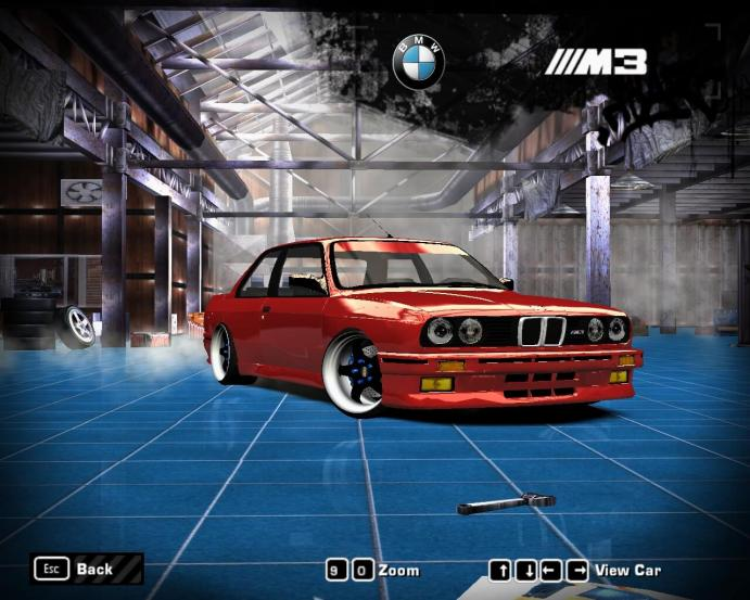 BMW M3 E30 (Wintershall) для NFS Most Wanted (2005)